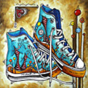Whimsical Shoes By Madart Poster