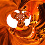 Whirls Abstract Poster