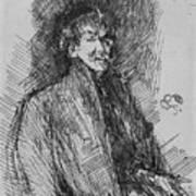 Whistler, Self-portrait.  Poster