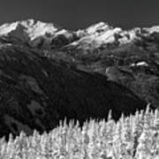 Whistler Winter Scenery Poster