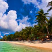White Beach Boracay Poster