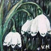 White Bells Poster