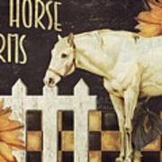 White Horse Farms Vermont Poster