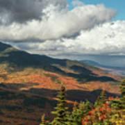 White Mountain Foliage Poster
