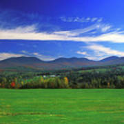 White Mountains From Route 2 Poster