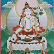 White Tara Chintamani Sita Tara Poster