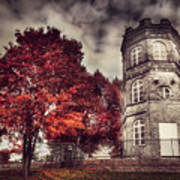 White Tower Of Autumn Poster