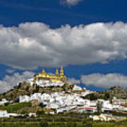 White Town Of Olvera, Andalusia, Spain Poster