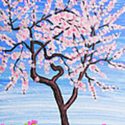 White Tree, Painting Poster