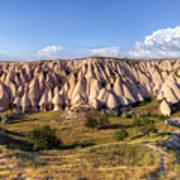 White Valley - Cappadocia Poster