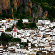 White Village Of Ubrique Spain Poster