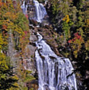 White Water Falls Poster