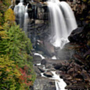 Whitewater Falls - Nc Poster