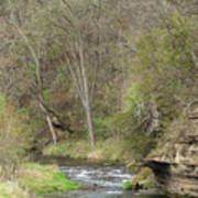 Whitewater River Spring 45 B Poster