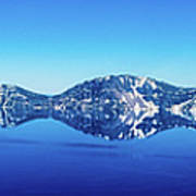 Wide Crater Lake Poster