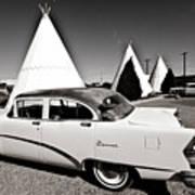 Wigwam Motel Classic Car #2 Poster