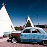 Wigwam Motel Classic Car #7 Poster