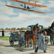 Wilbur Wright In France Poster