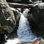 Wild Basin Waterfall Poster