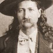 Wild Bill Hickok Was A Celebrated Poster