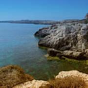 Wild Coast Cyprus Poster
