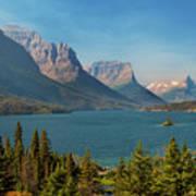 Wild Goose Island - Glacier National Park Poster