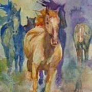 Wild Horses Poster by Gretchen Bjornson