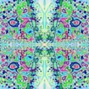 Wild Island Creation 1 Fractal B Poster