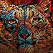 Wild Leopard Poster