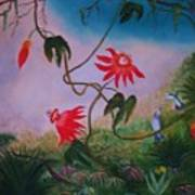 Wild Orchids Poster by Alanna Hug-McAnnally