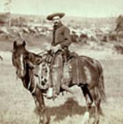 Wild West. The Cow Boy. Sturgis, Dakota Poster by Everett