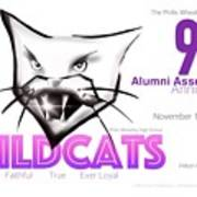 Wildcat 90th Anniversary Test Card Poster