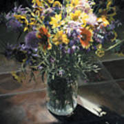 Wildflower Bouquet II Poster