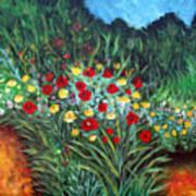 Wildflower Garden 1 Poster