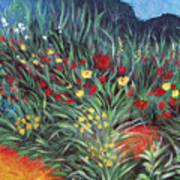 Wildflower Garden 2 Poster