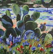 Wildflower Garden Poster