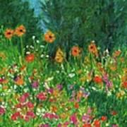 Wildflower Rush Poster