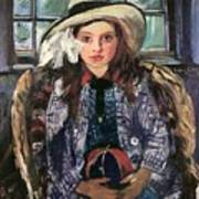 Wilhelmine With Ball 1915 Poster