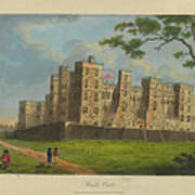 Wilkinson, Robert  58 Cornhill Windsor Castle Published 7 Aug 1813 Poster