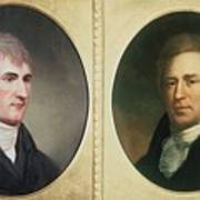 William Clark 1770-1838 And Meriwether Poster