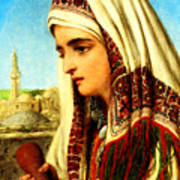 William Gale Arab Woman Poster