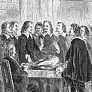William Harvey Explaining Blood Poster