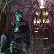 William Seward And Empire State Building 1 Poster