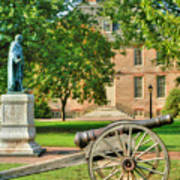 Williamsburg Cannon Poster
