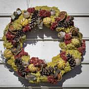 Williamsburg Wreath 29 Poster