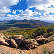Wilpena Pound And St Mary Peak Poster