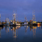 Winchester Bay Reflections Poster