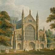 Winchester Cathedral Poster by John Buckler