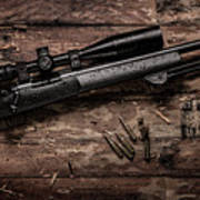 Winchester M70 Poster