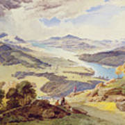 Windermere From Ormot Head Poster